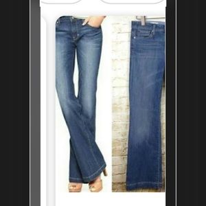 Gap 1969 Long & Lean Flare Jeans Stretch
